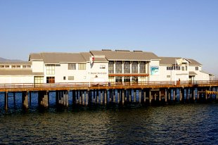 Stearns Wharf Pier Museum of Natural History- (medium sized photo)