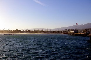 Stearns Wharf Ocean Pier- (medium sized photo)